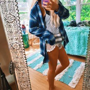 Tops - Indigo Blue Weekender Flannel 🌈
